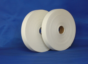 Thicker single side polyester satin ribbon