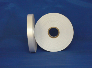 Double side recycle PET polyester satin tape